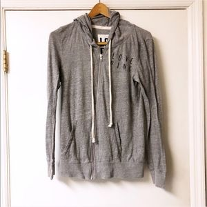 Victoria secret | Grey Zip up jacket